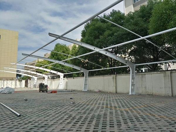 膜结构车棚