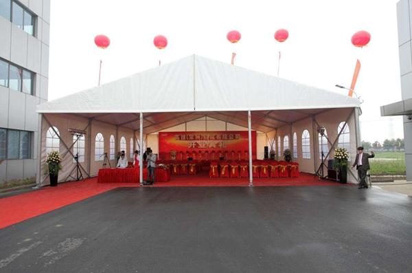 婚宴帐篷什么时候搭建更合适